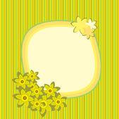 Spring_card — Stock Vector