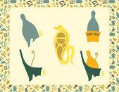 Uraeus_serpent — Stock Vector