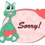 Cat_sorry — Stock Vector #9220021