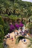View on Guell Park — Stock Photo
