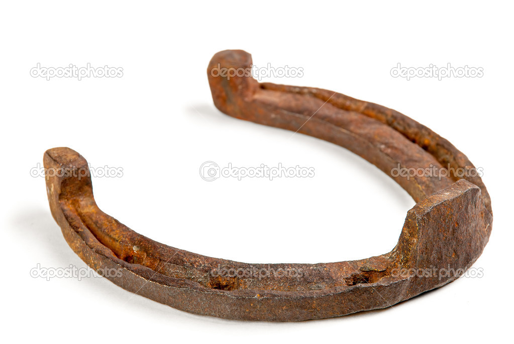 Old horseshoe stock photo gennadiyshel 10446723 for Where to buy used horseshoes