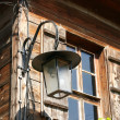 Stock Photo: Old lantern in Old Nessebar