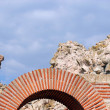 Stock Photo: Ruins of StarMitropoliBasilicin Nessebar