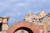 Ruins of Stara Mitropolia Basilica in Nessebar — Stock Photo