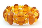 Baltic amber bracelet — Stock Photo