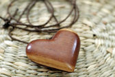 Wooden amulet — Stockfoto