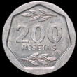 200 pesetas — Stock Photo