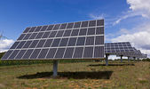 Solar energy panel — Stock Photo