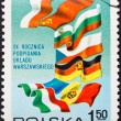 Stamp Poland — Stock Photo #9124608