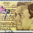 Stock Photo: Stamp spain padilla
