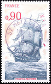France Stamp — Stock Photo