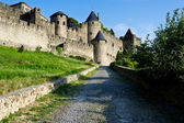 Carcassonne Medieval City — Stock Photo