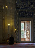Interior view of Selimiye Mosque — Stock Photo
