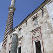 Stock Photo: One of minarets of Uc Serefeli Mosque, Edirne, Turkey