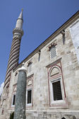 One of the minarets of Uc Serefeli Mosque, Edirne, Turkey — Stock Photo