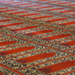 Carpets in Selimiye Mosque, Edirne, Turkey — Stock fotografie