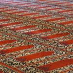 Carpets in Selimiye Mosque, Edirne, Turkey — Stock Photo