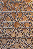 Door pattern, Selimiye Mosque, Edirne, Turkey — Stock Photo