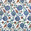 Wall tiles in Sultanahmet Mosque — Photo