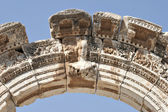 Bust of Hadrian's Arch, Ephesus — Stock Photo