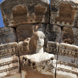 Bust of Hadrian's Arch, Ephesus, Izmir, Turkey — Stock Photo