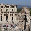 The library of Celsus in Ephesus — Stock Photo #9390251