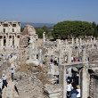 The library of Celsus in Ephesus — Stock Photo #9390255