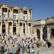 The library of Celsus in Ephesus — Stock Photo