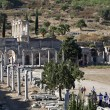 The library of Celsus,  Ephesus, Izmir, Turkey — Stock Photo