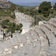Stock Photo: View of Horbour street from theatre, Ephesus