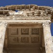Stock Photo: The Library of Celsus is an ancient building in Ephesus