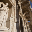 The Library of Celsus is an ancient building in Ephesus — Stock Photo #9390462