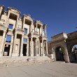 Stock Photo: Library of Celsus is ancient building in Ephesus