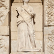 One of four virtue statue in Census library — Stock Photo