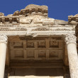 The Library of Celsus is an ancient building in Ephesus — Stock Photo #9390590