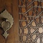 Door patterns of Selimiye Mosque — Stock Photo