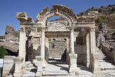 Hadrian's Temple, Ephesus, Izmir, Turkey — Stock Photo
