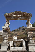 The Fountain of Traianus, Ephesus — Stock Photo