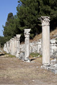 Columns in The Tetragonos Agora — Stock Photo