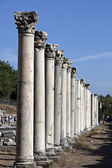 Colums in The Western Gate of Agora — Stock Photo