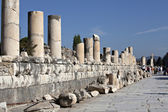 Marble street in Ephesus — Stock Photo