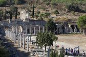 The library of Celsus, Ephesus, Izmir, Turkey — Stock Photo