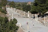 Horbour street, Ephesus, Izmir, Turkey — Stock Photo