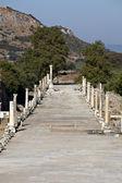 Horbour street in Ephesus — Stock Photo