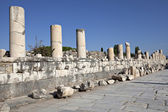 Marble street, Ephesus, Izmir, Turkey — Stock Photo