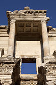 The Library of Celsus is an ancient building in Ephesus, Izmir, — Stock Photo