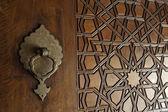 Dveře vzory mešita selimiye — Stock fotografie