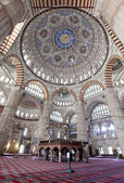 Interier view of Selimiye Mosque — Stock Photo