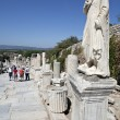 A statue on Kuretes Street in Ephesus — Stock Photo