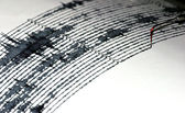 Seismogram — Stock Photo